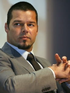 Ricky Martin speaks on Capitol Hill about human trafficking