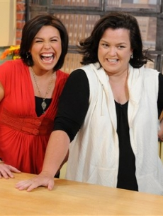 Rachael Ray and Rosie O'Donnell appear on the May 2 episode of Rachael's show
