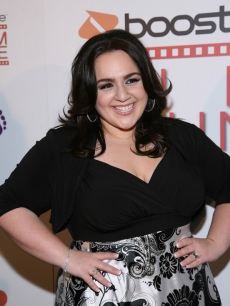 Nikki Blonsky hits the Boost Mobile Film Lounge at the 'Harold' after party