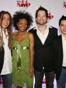 Jason Castro, Syesha Mercado, David Cook and David Archuleta
