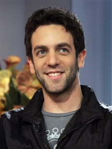 Actor B.J. Novak, of the 'The Office,' appears on  NBC's 'Today'