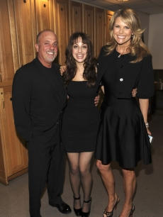 Billy Joel and Christie Brinkley pose with daughter Alexa Ray in NYC
