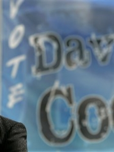 David Cook is honored at Blue Springs High School in Blue Springs, MO