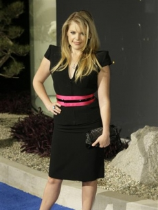 Dixie Chick Natalie Maines at the Alexander McQueen Boutique launch party