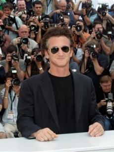 Sean Penn and an army of photographers at the 61st International film festival in Cannes