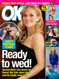 OK! Magazine's Reese Witherspoon and Jake Gyllenhaal cover story