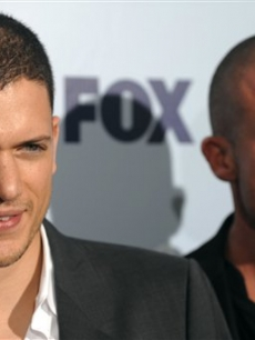 'Prison Break's' Wentworth Miller and Dominic Purcell at the Fox upfronts
