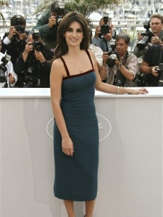 Penelope Cruz in Cannes for her film 'Vicky Cristina Barcelona'