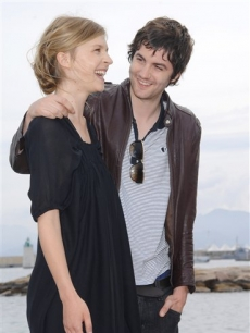 Jim Sturgess and Clemence Poesy in Cannes for 'Heartless'