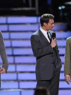 American Idol 7 - David Cook - David Archuleta - Ryan Seacrest 5 20 '08 FOX 3