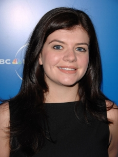Casey Wilson NBC upfronts in New York 12 '08