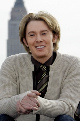 Clay Aiken in New York (Jan. 2008)