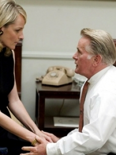 Helen Hunt and Martin Sheen