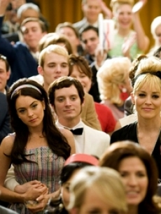 Lindsay Lohan, Elijah Wood, and Sharon Stone