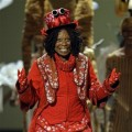 Tony Host Whoopi Goldberg goes under the sea during the 62nd Annual theater award show