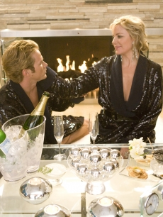 Kim Cattrall and Jason Lewis
