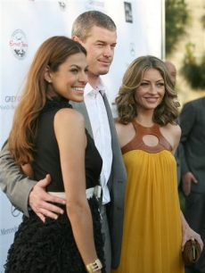 Eva Mendes, Eric Dane and Rebecca Gayheart hit the Butterfly Ball