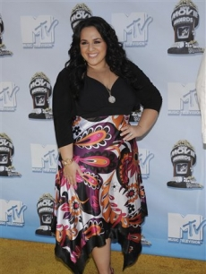 'Hairspray' star Nikki Blonsky at the 2008 MTV Movie Awards