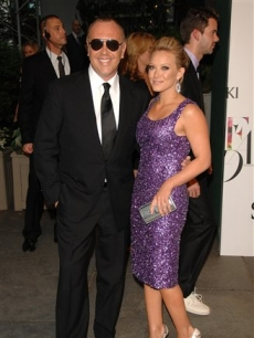 duffDesigner Michael Kors and singer Hilary Duff at the CFDA Fashion Awards in New York