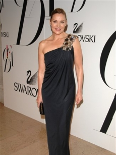 Kim Cattrall looking radiant at the CFDA Fashion Awards