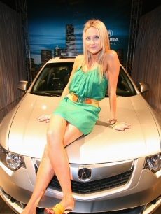 Stephanie Pratt from 'The Hills' at the Gen Art & Acura TSX launch
