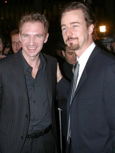 Ed Norton and Ralph Fiennes