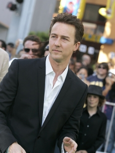 Ed Norton at 'The Incredible Hulk' premiere in LA
