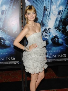Mischa Barton attends 'The Happening' premiere in NYC