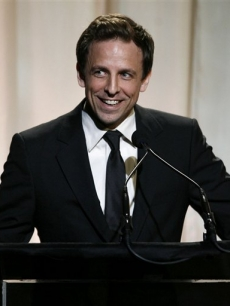 'SNL' star Seth Meyers hosts the 12th annual Webby Awards, NYC