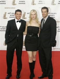 'October Road's' Bryan Greenberg, Laura Prepon and Geoff Stults in Monaco