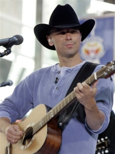 Kenny Chesney performs on 'Today,' June 13, 2008