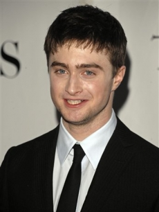 Daniel Radcliffe arrives at the 62nd Annual Tony Awards in New York