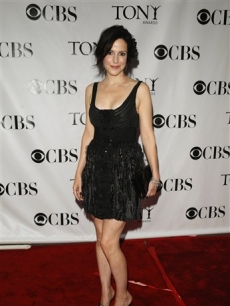 Mary-Louise Parker at the 62nd Annual Tony Awards