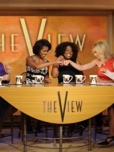 Michelle Obama On 'The View,' 6-18-08
