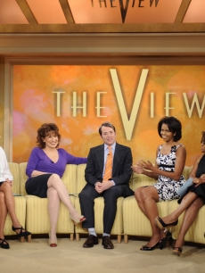 Michelle Obama and Matthew Broderick chat on 'The View