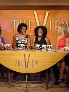 Michelle Obama guest hosts on 'The View'