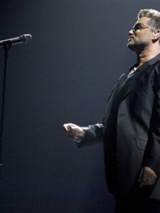 George Michael plays the San Diego Sports Arena on June 17, 2008