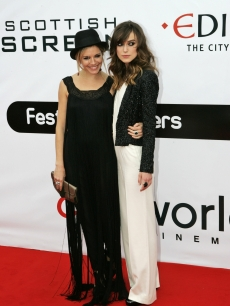 Sienna Miller and Keira Knightley (in Chanel) at 'The Edge of Love' premiere in Scotland