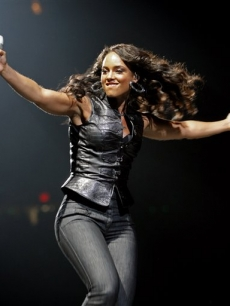 Alicia Keys performs at Madison Square Garden on Wednesday