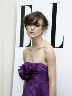 Keira Knightley arrives for the London premiere of her film 'The Edge of Love'
