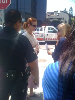 Marcia Cross's Car Accident