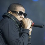 Jay-Z rocks the mic in Switzerland