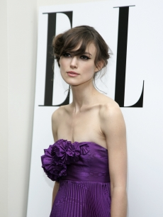 Keira Knightley at the London premiere of her film 'The Edge of Love'