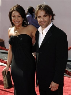 Rachael Ray and husand John Cusimano arrive to the Daytime Emmy Awards