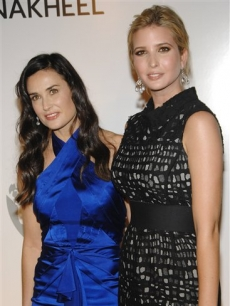 Demi Moore and Ivanka Trump attend a Trump party in NYC, June 23, 2008