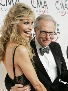 Larry King and his wife Shawn Southwick King (Nov. 2005)
