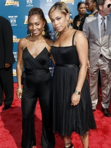Rozonda Chilli Thomas and Tionne T-Boz Watkins at the BET Awards