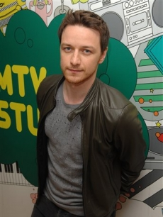 James McAvoy on MTV's 'Total Request Live' on Monday, June 23, 2008.