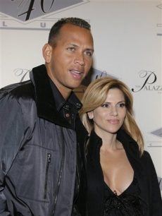 Alex Rodriguez and wife Cynthia on the red carpet