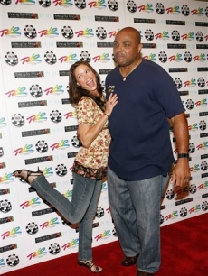 Shannon Elizabeth, and Charles Barkley at the &#8216;Ante Up For Africa&#8217; charity poker tournament  in Las Vegas
